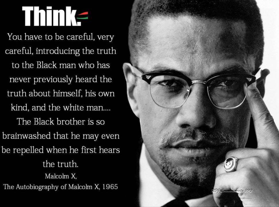 Malcolm X Quote, 1965
