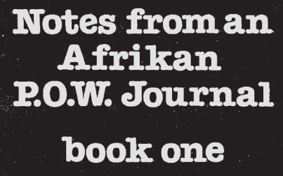 NOTES FROM A NU AFRIKA PP
