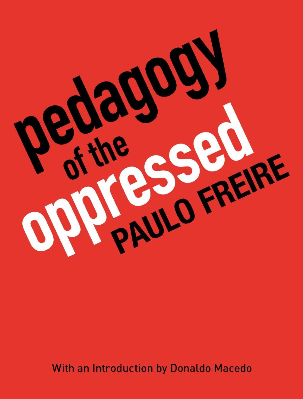 pedagogy of the oppressed analysis Pedagogy of the oppressed (portuguese: pedagogia do oprimido), written by educator paulo freire, proposes a pedagogy with a new relationship between teacher, student, and society.