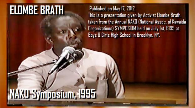 ELOMBE BRATH - NAKO Symposium, 1995 1