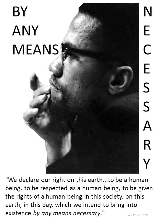malcolm x by no means necessary All about malcolm x: by any means necessary by walter dean myers  librarything is a cataloging and social networking site for booklovers.
