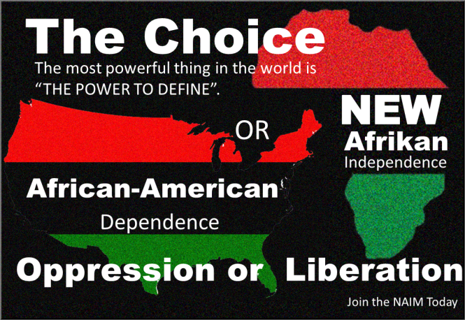 The Choice African American Or New Afrikan Oppression Or