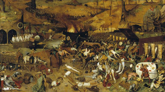 "16th Century Europe – ""Triumph of Death"" depicts disease and war"